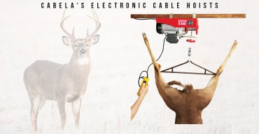 Buy or Bust – Cabela's Electronic Cable Hoists