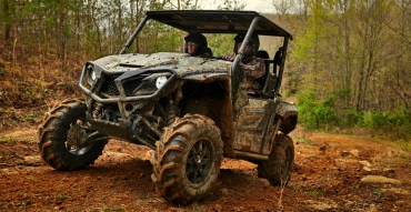 The Yamaha Wolverine X2: It conquers terrain that takes intestinal fortitude to explore.