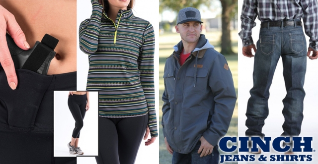 CINCH – New Offerings for Men and Women