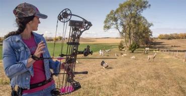 Off-Season Archery and Firearm Range Practice with Melissa Bachman