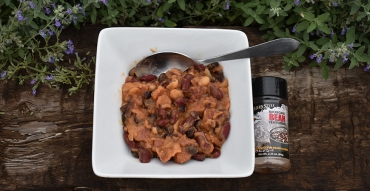Venison Cowboy Beans