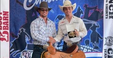 "Bradlee Miller, 2021 Jr NFR World Champion in Bareback and ""Kid Rodeo"" Docu-Series Rodeo Athlete"