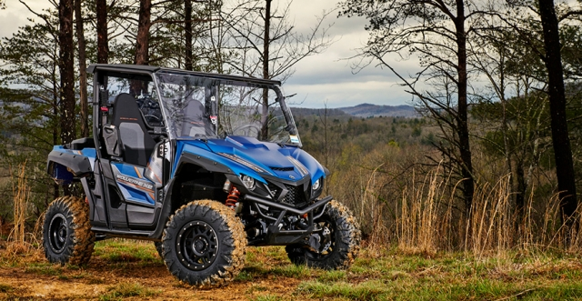 An Off-Road Bombshell: New Offerings from Yamaha