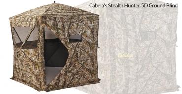 Buy or Bust – Cabela's Stealth Hunter 5D Ground Blind