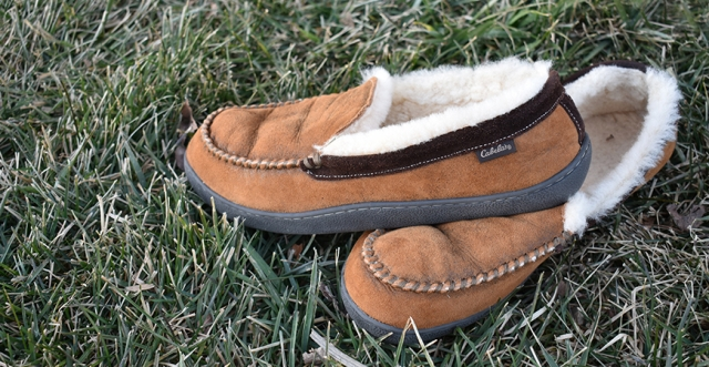 Buy or Bust – Cabela's Bomber Leather Shearling Slippers